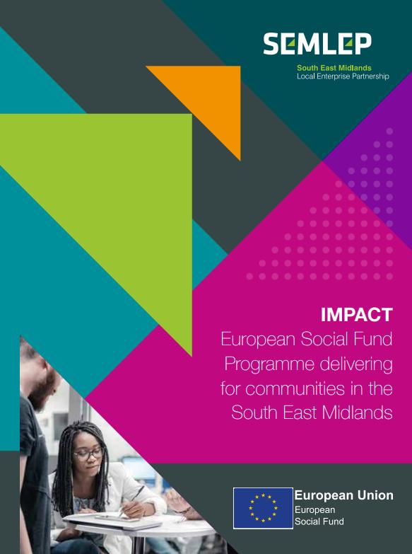 ESF Impact brochure