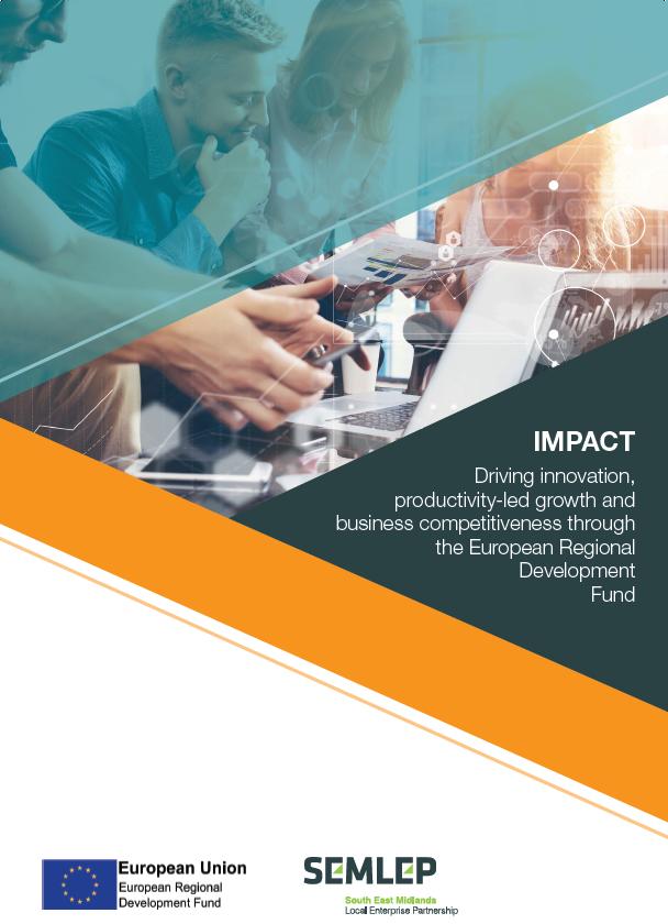 ERDF Impact brochure
