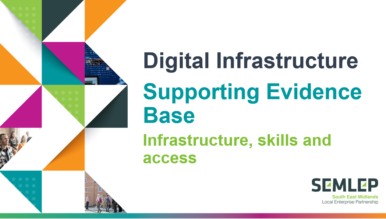 Digital infrastructure supporting evidence base