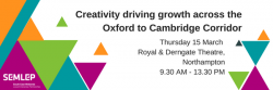 Creativity driving growth across the Oxford to Cambridge Corridor