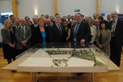 Ministerial visit highlights Bicester progress