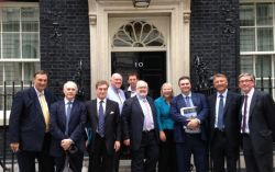 SEMLEP Chair visits Number 10