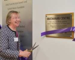 Official opening of Buchanan Centre