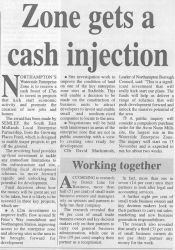 Zone gets Cash Injection