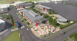 Prime six-acre site now ready for development at Silverstone...