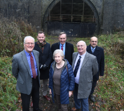 Work on ground-breaking project Catesby Tunnel begins...
