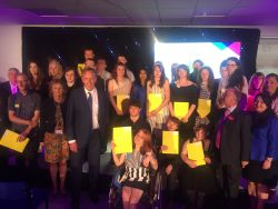 Award winners take to the stage in Daventry