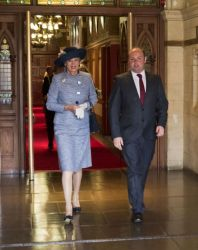 Northampton welcomes a royal visitor