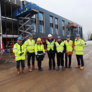 Enterprise Centre, East Northants reaches new heights