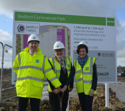 Sod Cutting Ceremony marks the official start of i...