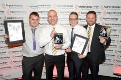 Liebherr GB wins top apprenticeship award