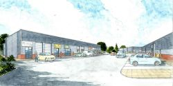 Work starts on site for new 42,500 Sq Ft industrial...