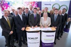Minister Greg Clark MP signs £79.3m deal for South...