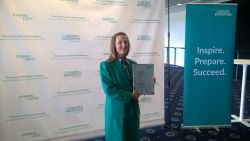 Paula Grayson wins award for work to support young...