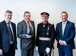 Queens award - highest official award for businesses...