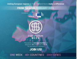 Join us and support Startup Europe Week 2016