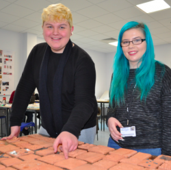 Mural goes on display at new Daventry campus