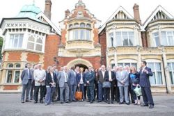 Velocity launched at Bletchley Park