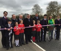 Completed Bedford Western Bypass is officially opened...