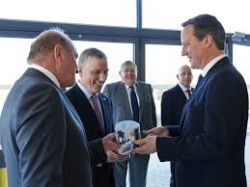 Prime Minister visits Cosworth Advanced Manufacturing...
