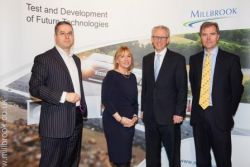 Stakeholders celebrate Millbrook's world leading facilities...