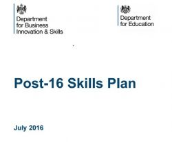 Radical reforms to post-16 technical education published...