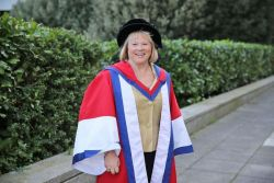 Dr Ann Limb OBE honoured for outstanding contribution...