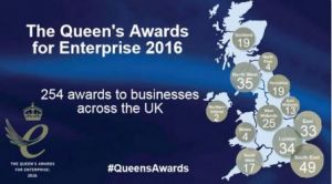 Congratulations to our Queen's Award for Enterprise winners