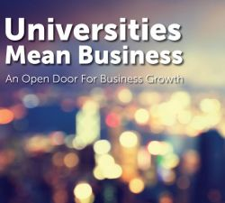 Universities Mean Business event